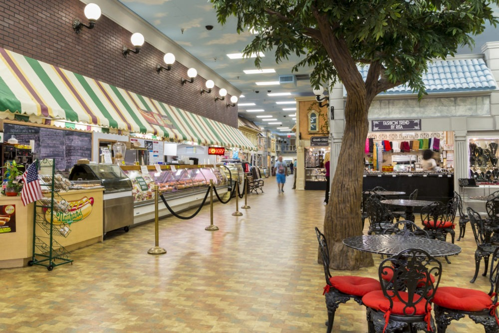 The Food Court at The Big Apple Shopping Bazaar
